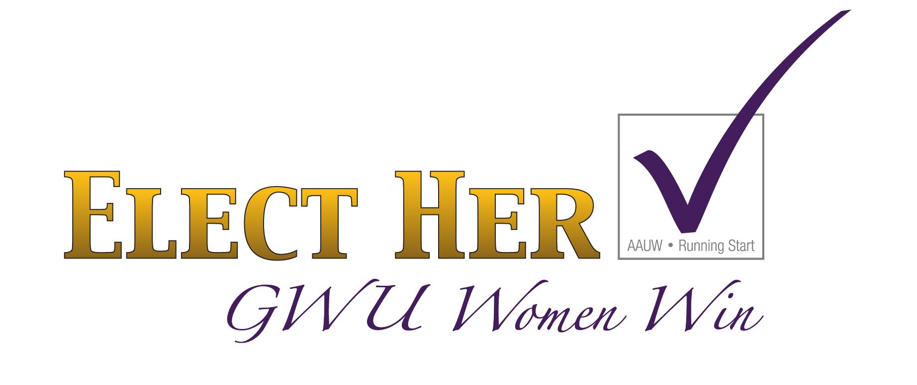 Elect Her-Campus Women Win Logo