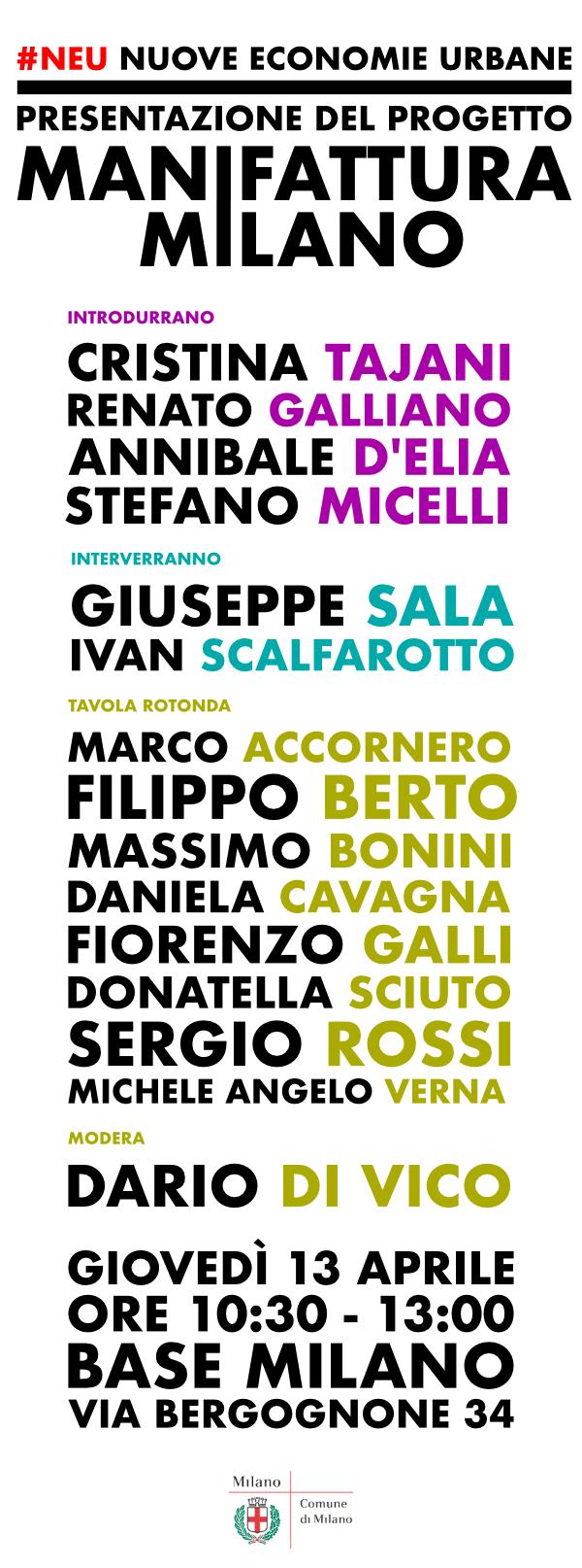 Programma Manifattura Milano