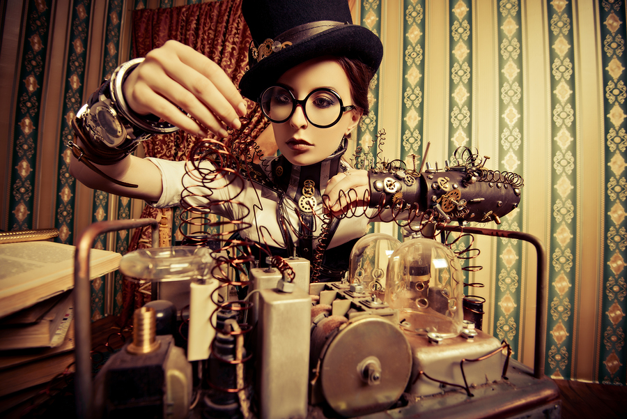 Steampunk STEAM Camp Summercamp for girls kidstech
