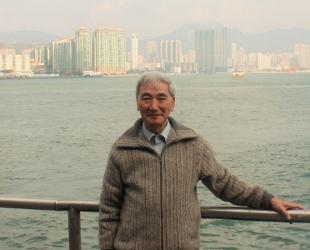 Kozo Hoshino at Hong Kong Harbour