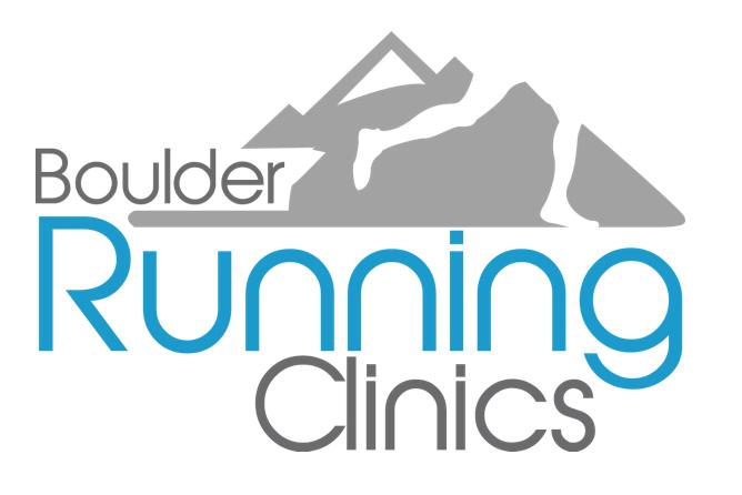 Boulder Running Clinics 2019 Logo