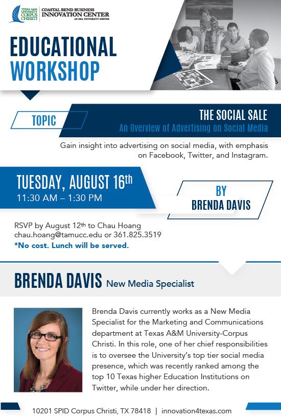 Workshop Flyer - The Social Sale