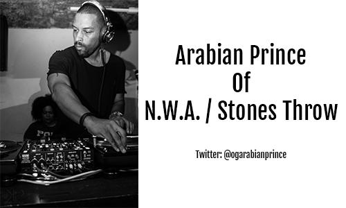Arabian Prince N.W.A. / Stones Throw