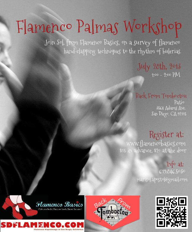 Flamenco Palmas Workshop