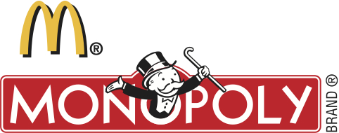 MONOPOLY at McDonald's Logo