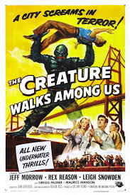 Movie Poster The Creature Walks Amoung Us - 1956