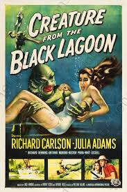 Movie Poster Creature from the Black Lagoon