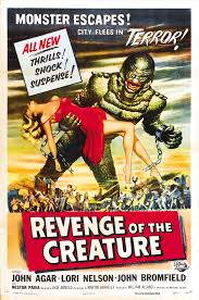 Movie Poster Revenge of the Creature