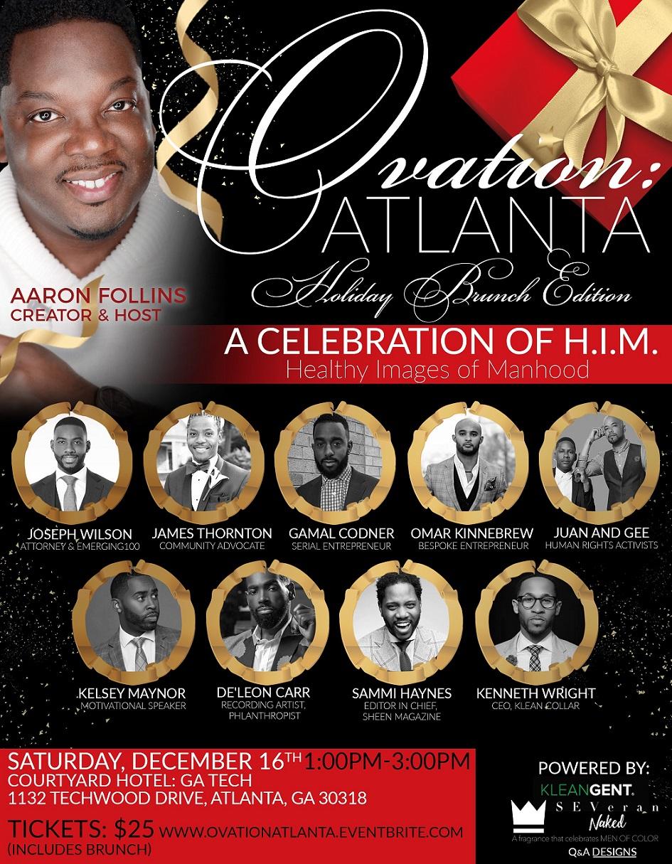 Ovation: Atlanta Event Flyer