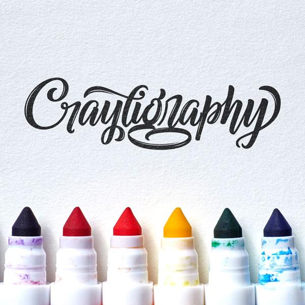 Crayligraphy