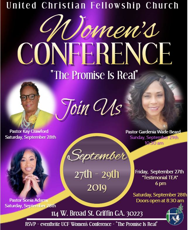 2019 UCF Women Conference