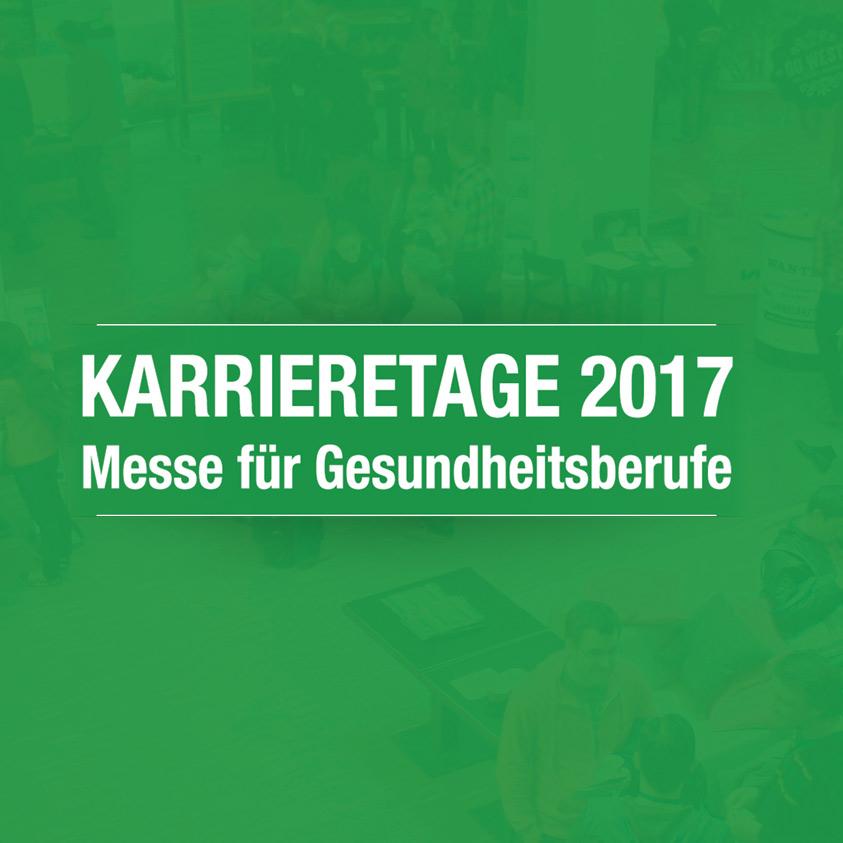 Karrieretage 2017 für Gesundheitsberufe in Wien