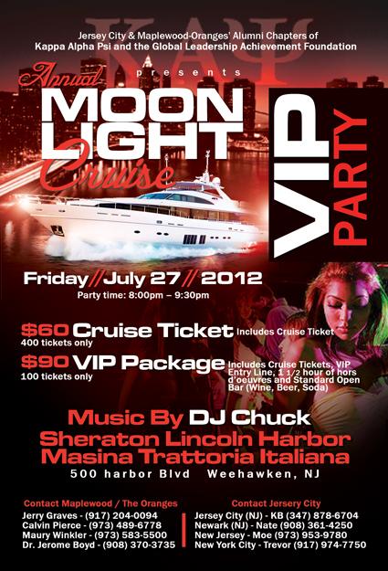 The Jersey City Nupes Moonlight Cruise Tickets Fri Jul