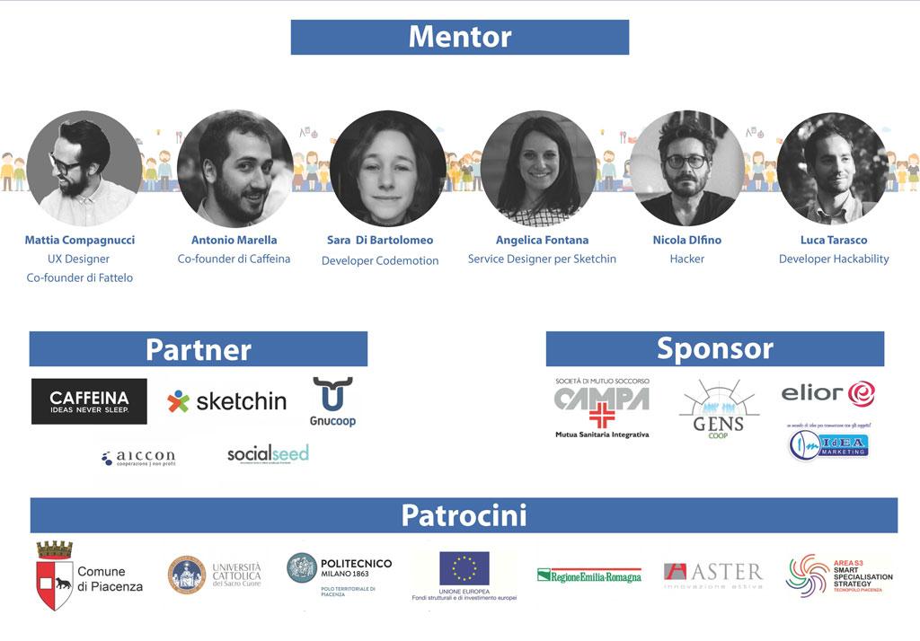 Mentor e Partner Social Hackathon