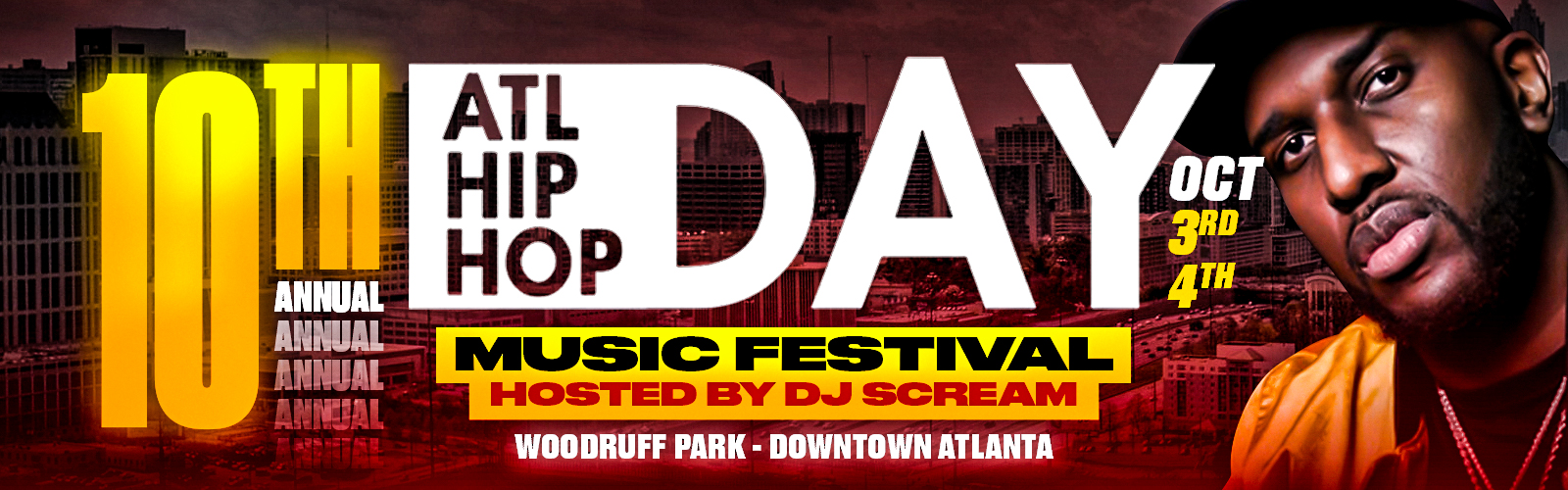 Roscoe Fall Festival 2020.10th Annual Atlanta Hip Hop Day Festival Tickets Sat Oct 3