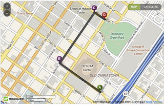 Mardi Gras Parade Route for Saturday February 1, 2014 8:00am - 10:00am