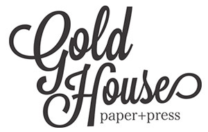 gold house paper
