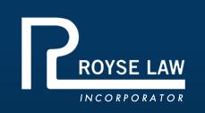 RoyseLaw Incorporator