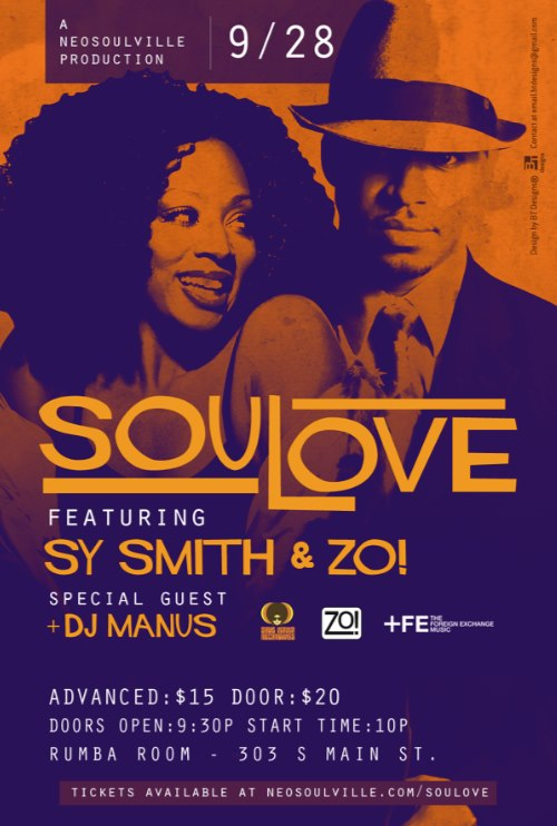 SouLove September Poeter with Zo! & Sy Smith