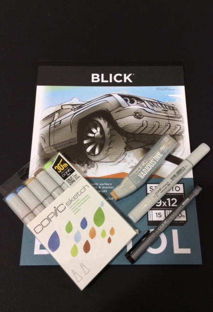 Blick Columbus Presents Copic Markers In Store Workshop