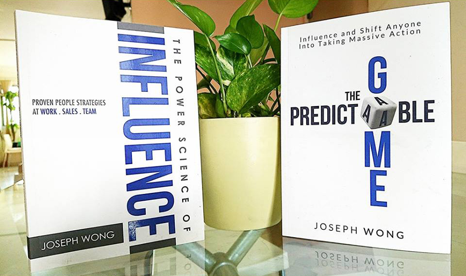 Joseph Wong's Books - The Power Science of Influence