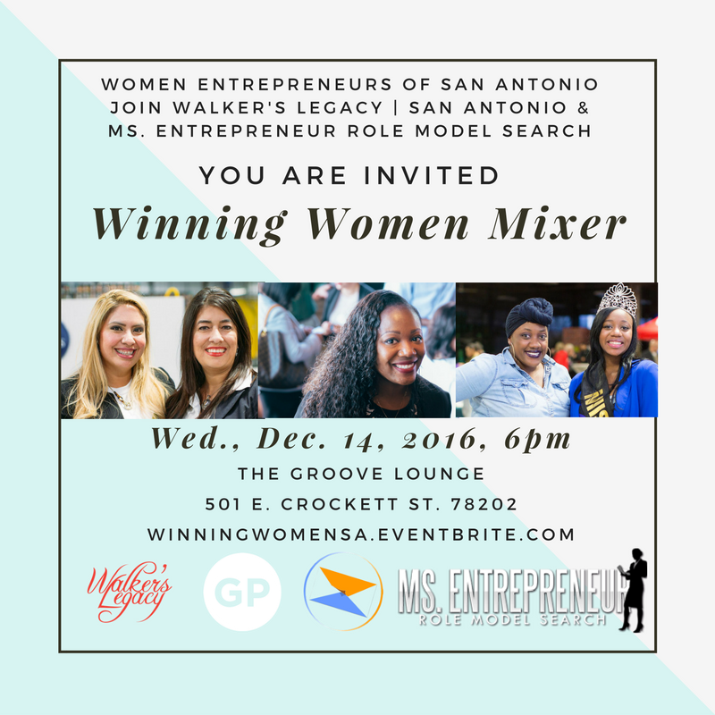 Winning Women Mixer Invite