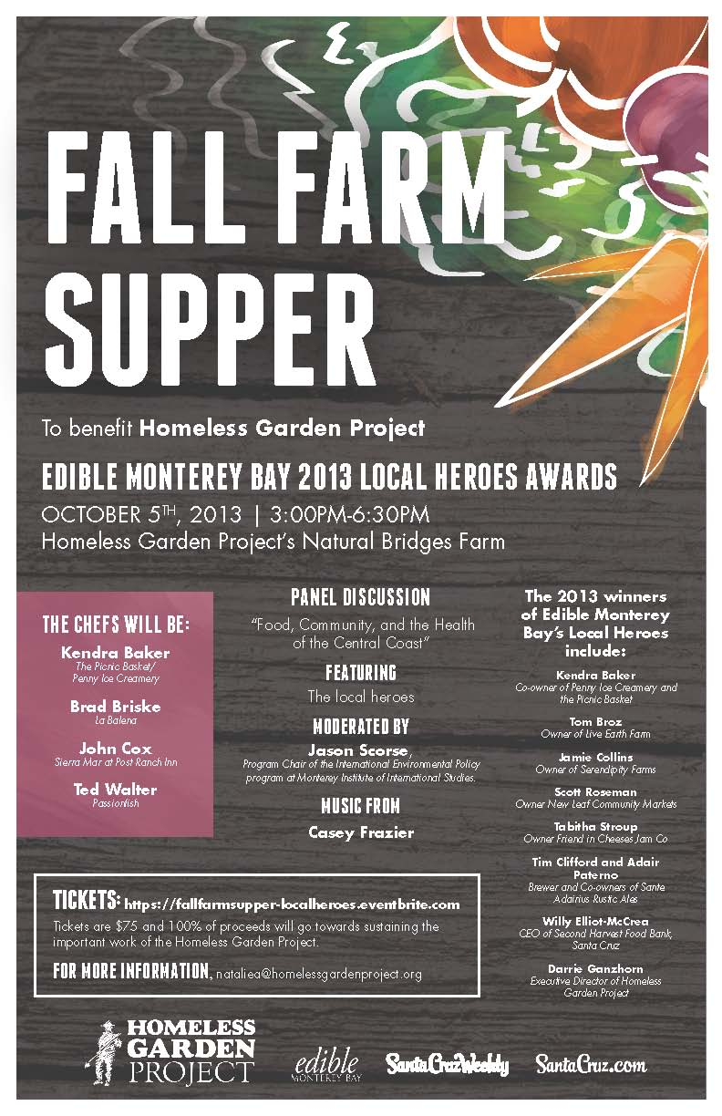 Fall Farm Supper 2013