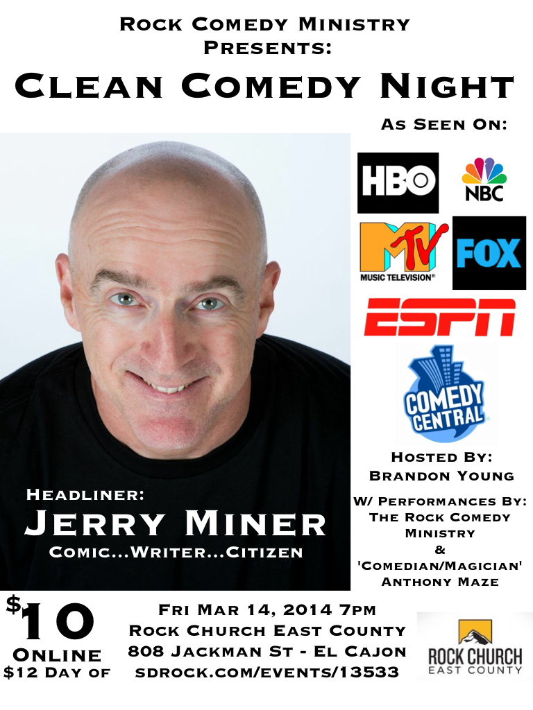 Clean Comedy Flyer