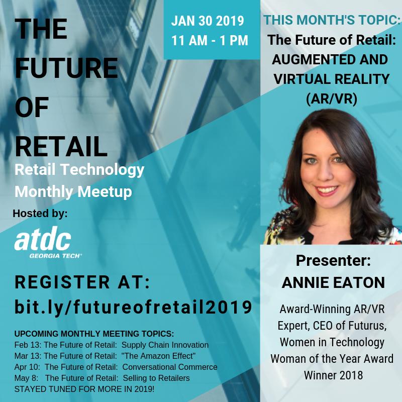 Annie Eaton Retail Tech Meetup ATDC Jan 2019