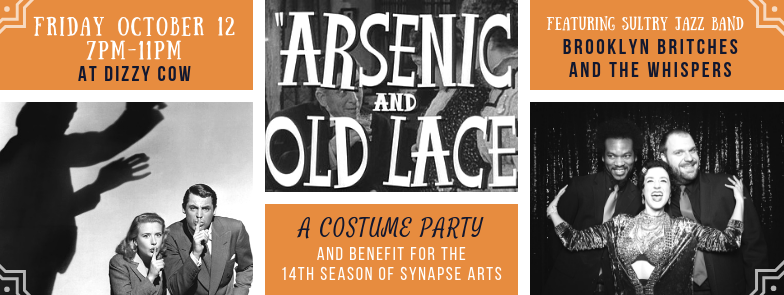 Arsenic and Old Lace Party banner