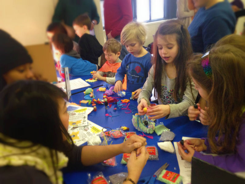 Young makers have tons of fun building, creating and making in our makerspaces!