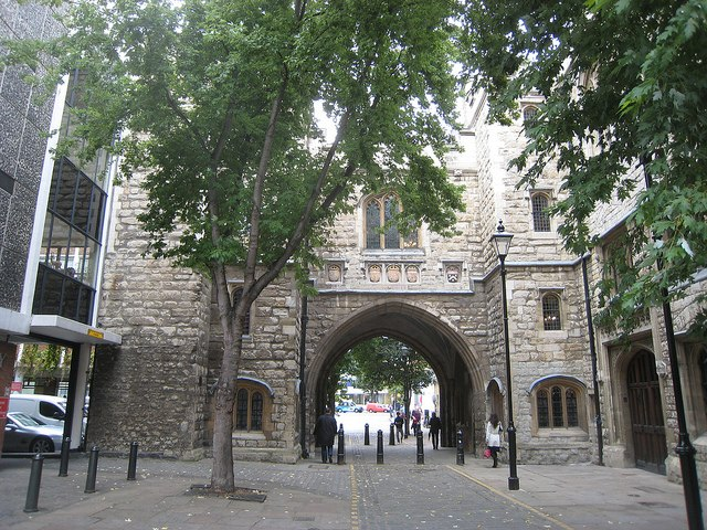 image of St Johns Gate at Clerkenwell