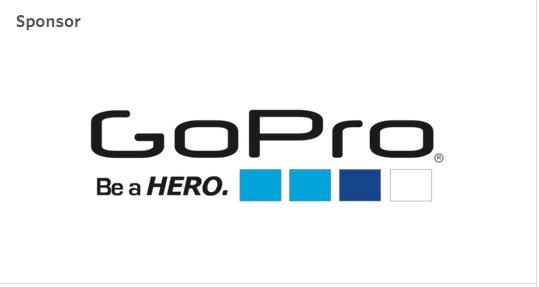 Sponsored by GoPro
