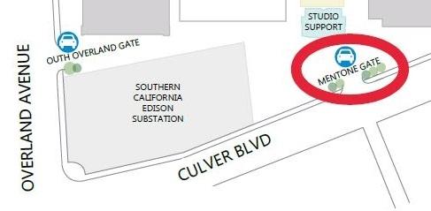 Entrance Gate Map