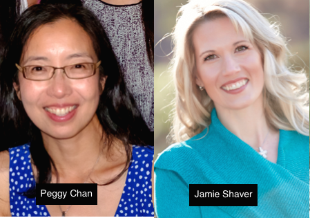 Peggy Chan and Jamie Shaver