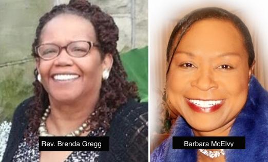 Rev. Brenda Gregg and Barbara McElvy