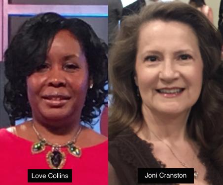 Love Collins and Joni Cranston