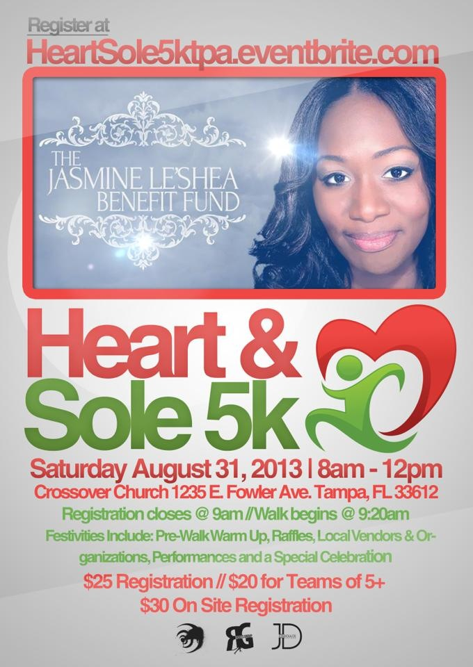 Heart & Sole 5K Flyer