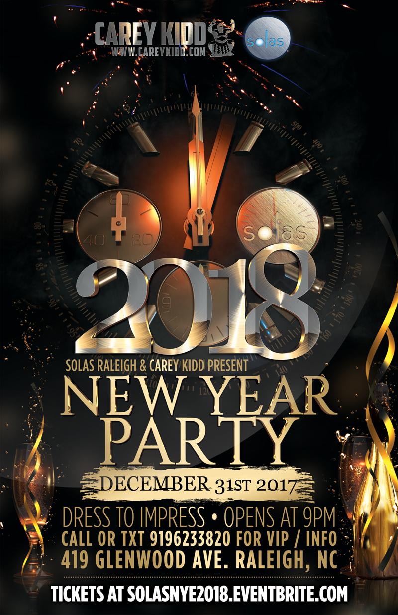 New Years Eve Raleigh Nc