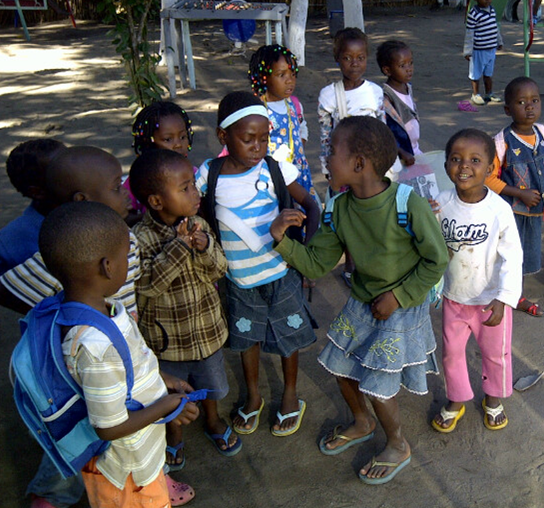 Children at the Melanie Center - Beira, Mozambique