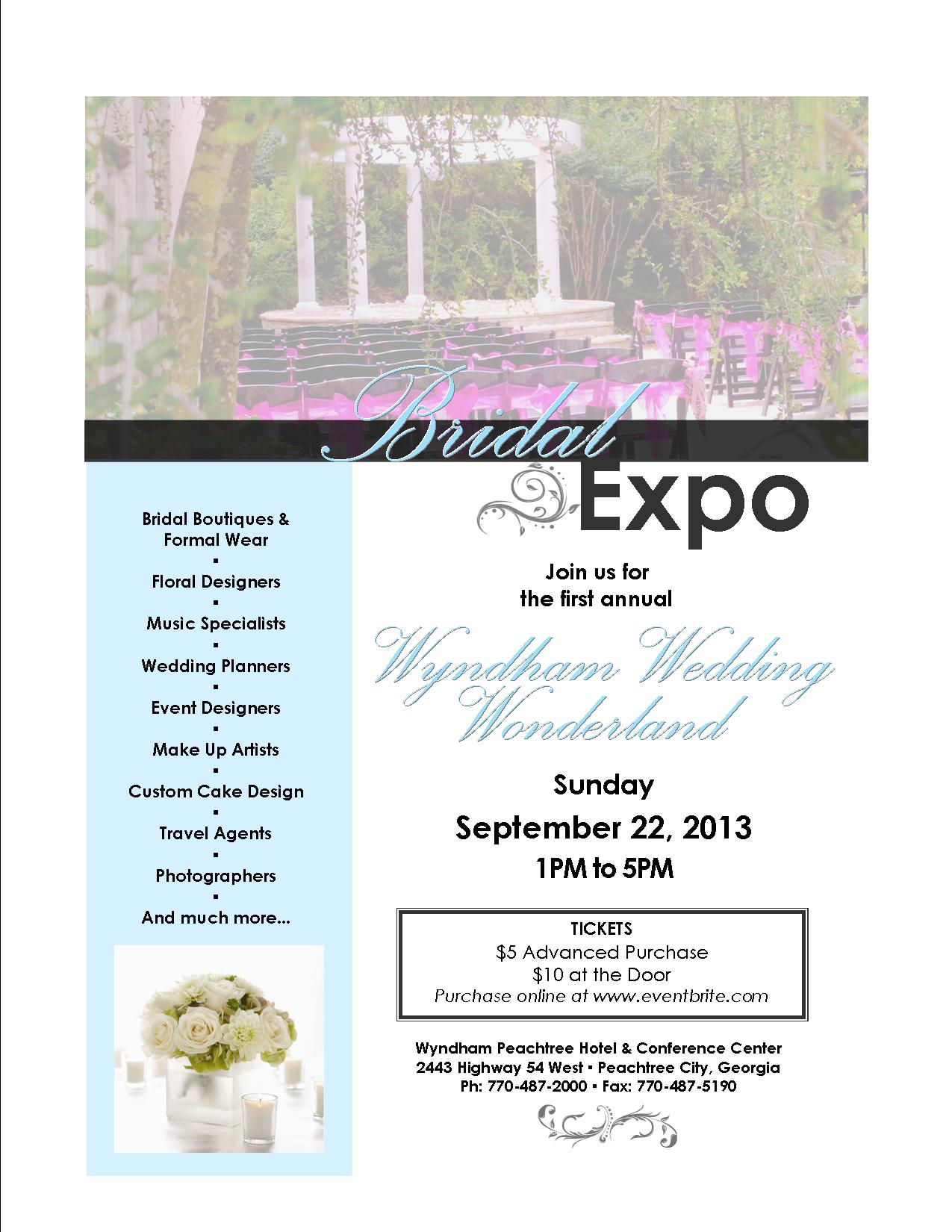 Wyndham Wedding Wonderland Bridal Expo