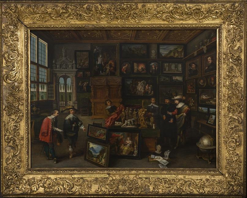 A Collector's Gallery, Frans Francken II