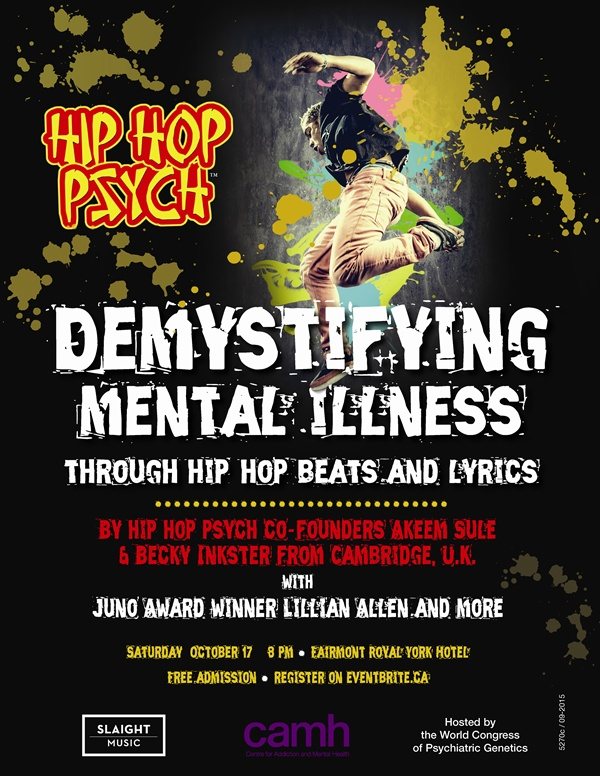 HIP HOP PSYCH: Demystifying mental illness through hip hop beats and lyrics