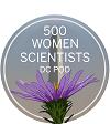 500 Women Scientists DC logo