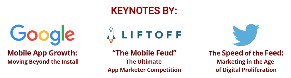 Mobile Growth Europe 2016 Keynotes