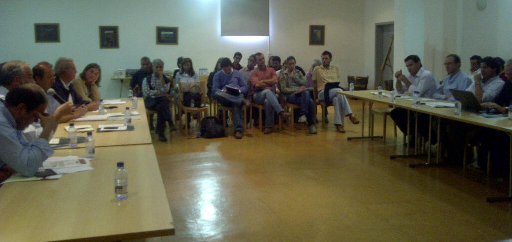 Audience at Tinta Roriz workshop in Peso de Regua, Douro, Portugal on September 1st 2011