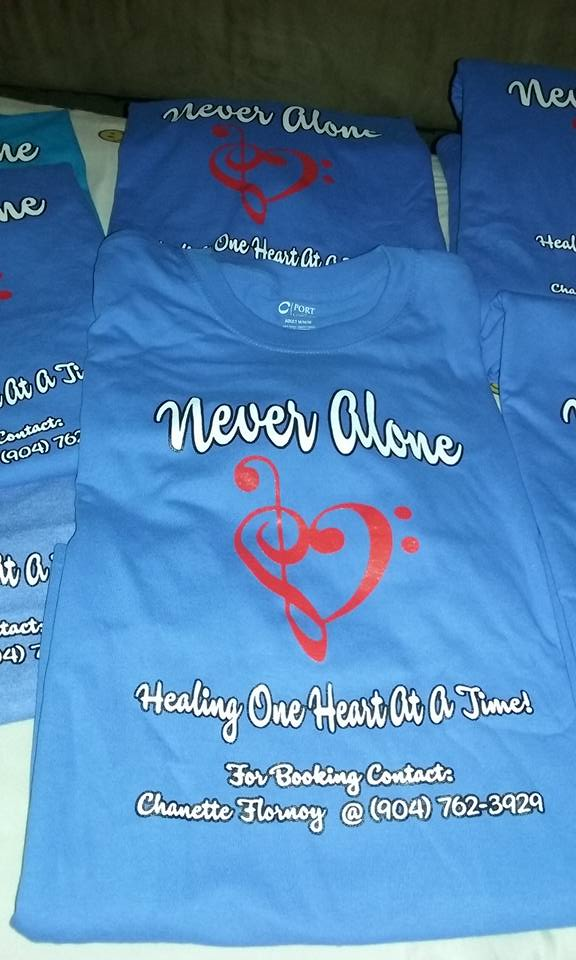 Branded Never Alone Tshirts
