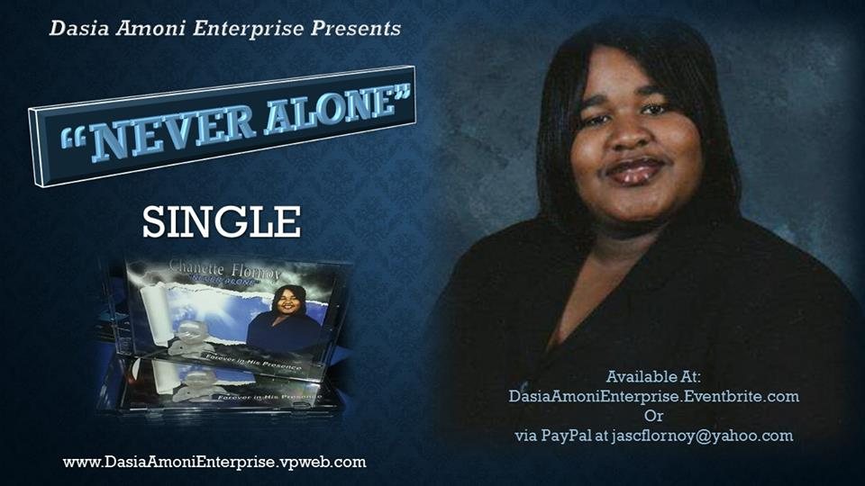 Single Never Alone Poster