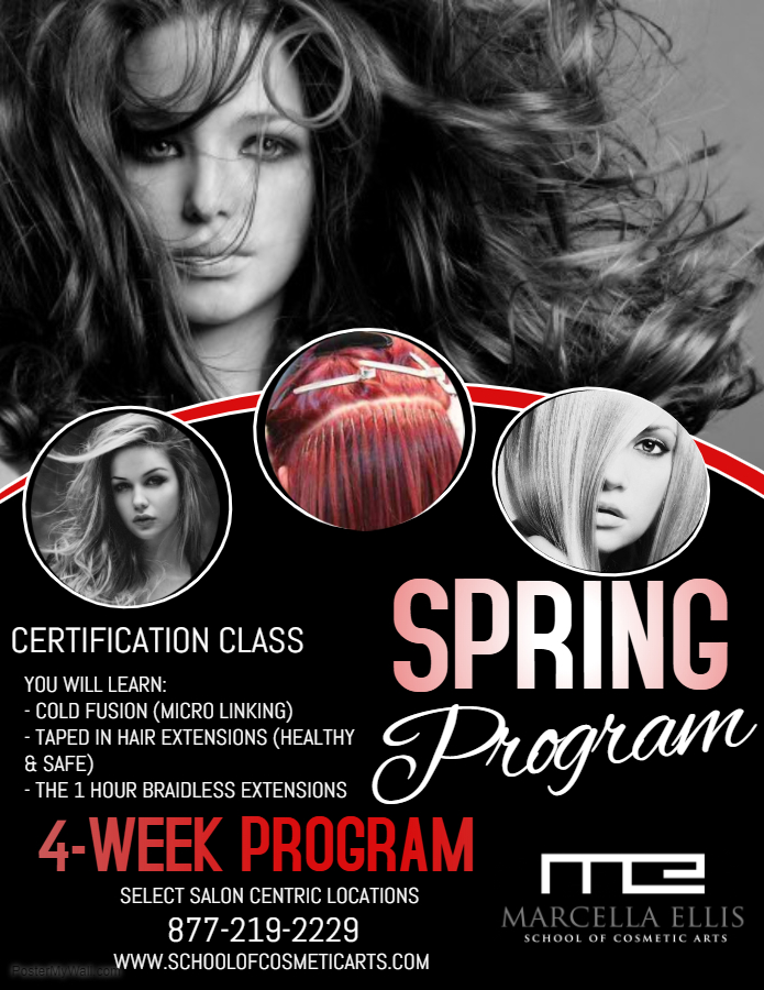 Hands on Class Certification Hair Extensions