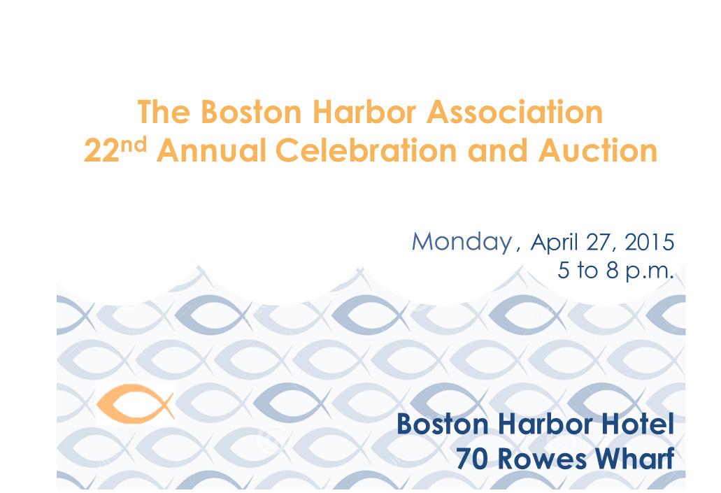 TBHA annual fundraiser invitation